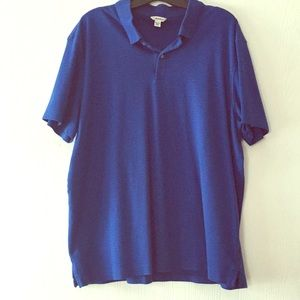 Men's Calvin Klein blue polo